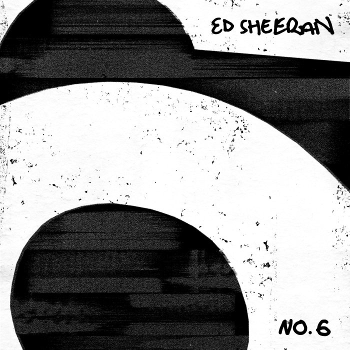 """copertina album """"No. 6 Collaborations Project"""" Ed Sheeran"""