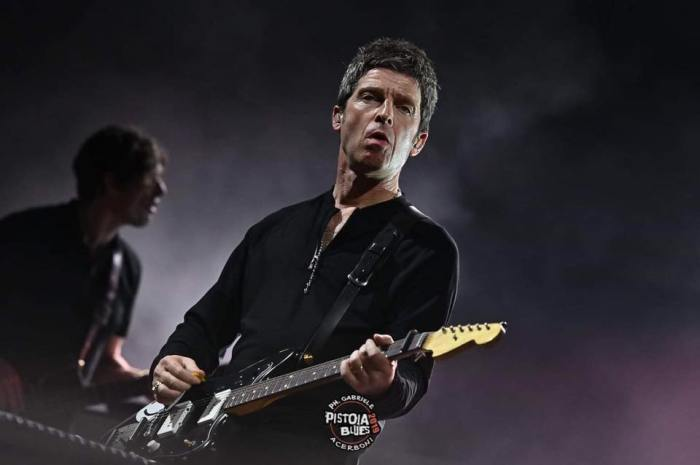 Noel Gallagher 8 luglio al Pistoia Blues Festival: ecco la scaletta