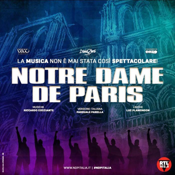 Notre Dame De Paris torna con nuove date
