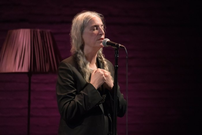 "Patti Smith in concerto con ""Words And Music"" a novembre e dicembre"