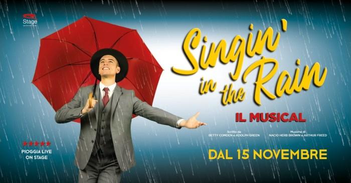 """Dal 15 novembre all'11 gennaio al Teatro nazionale di Milano arriva """"Singin' In The Rain - Cantando Sotto La Pioggia"""""""