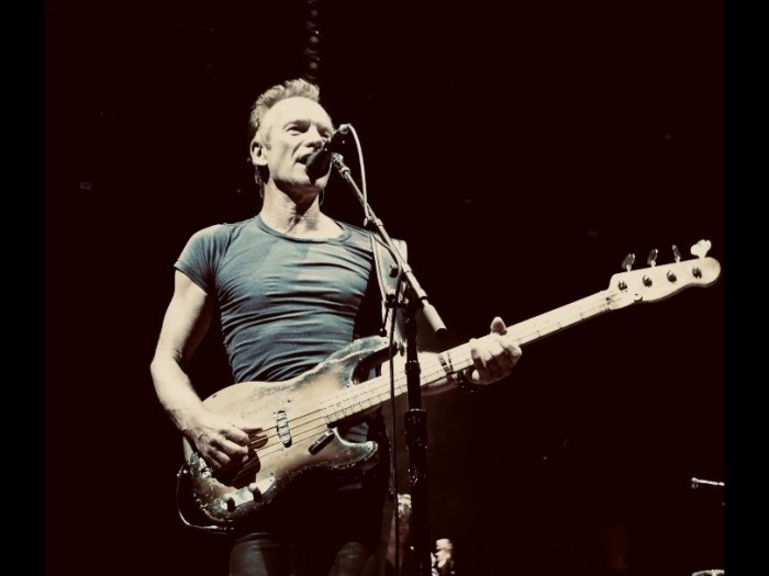 "Sting in concerto il 29 ottobre al Mediolanum Forum con ""My Songs Tour"""