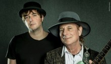 The Niro e Gary Lucas - Foto di Paolo Soriani