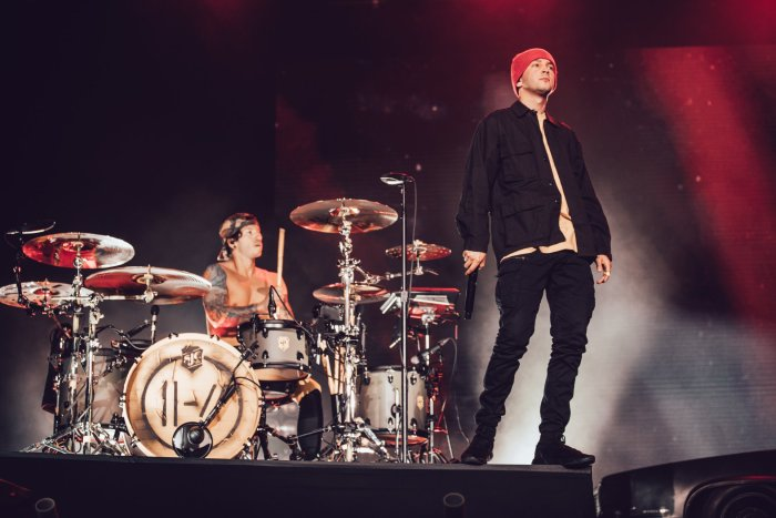 """""""Blurryface"""" dei Twenty One Pilots è l'album più ascoltato in streaming di una band di tutti i tempi"""