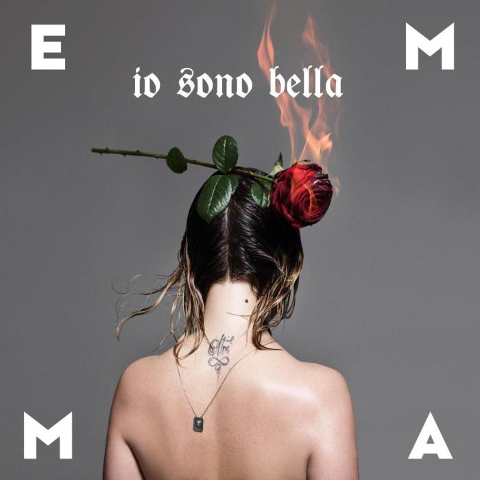"""Emma """"Io Sono Bella"""" copertina singolo"""