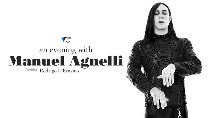 "Manuel Agnelli in tour nei teatri dall'8 novembre con ""An Evening With Manuel Agnelli"" con canzoni di Afterhours e cover"