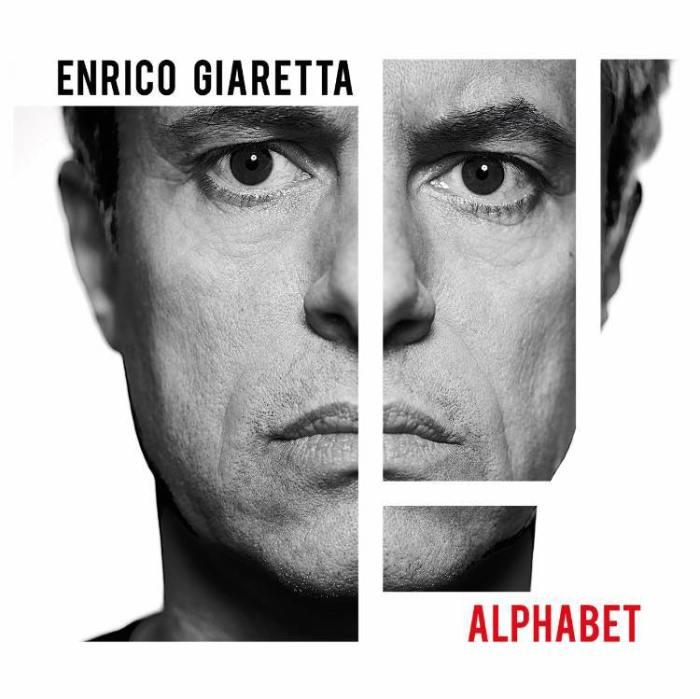 "Enrico Giaretta copertina album ""Alphabet"""