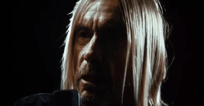 """Iggy Pop inquadrato da vicino nel nuovo video """"Loves Missing"""""""