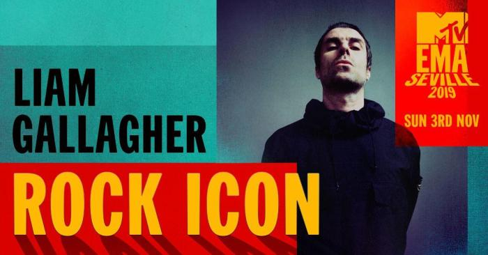 Liam Gallagher è la Rock Icon degli MTV EMAs 2019