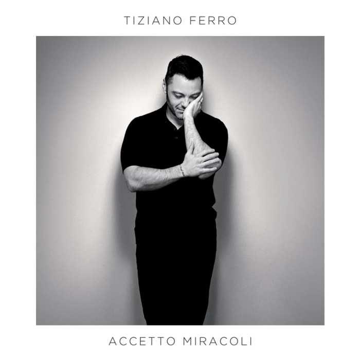 """copertina album """"Accetto Miracoli"""" Tiziano Ferro"""
