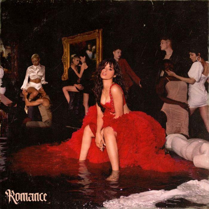"""Camila Cabello album copertina """"Romance"""""""