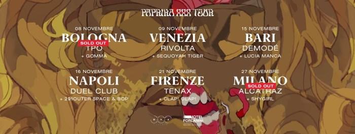 Myss Keta sold out le date di bologna e Milano
