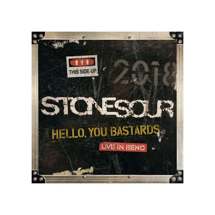 """copertina """"Hello, You bastards: live in Reno"""" degli Stone Sour"""