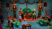 "Blink 182 video animato claymotion ""Not Another Christmas Song"""