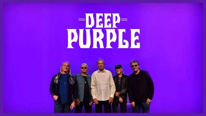 Deep Purple in concerto il 19 ottobre al Mediolanum Forum di Milano
