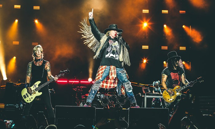 Guns N' Roses dal vivo il 21 giugno al Pinkpop 2020