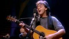 "Paul McCartney ""Unplugged"" Napoli 5 giugno 1991"