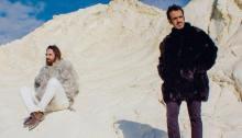 """Colapesce e Dimartino album copertina """"I Mortali"""""""