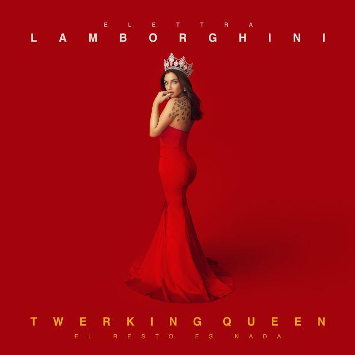 """Elettra Lamborghini copertina """"Twerking Queen - El resto es nada"""""""