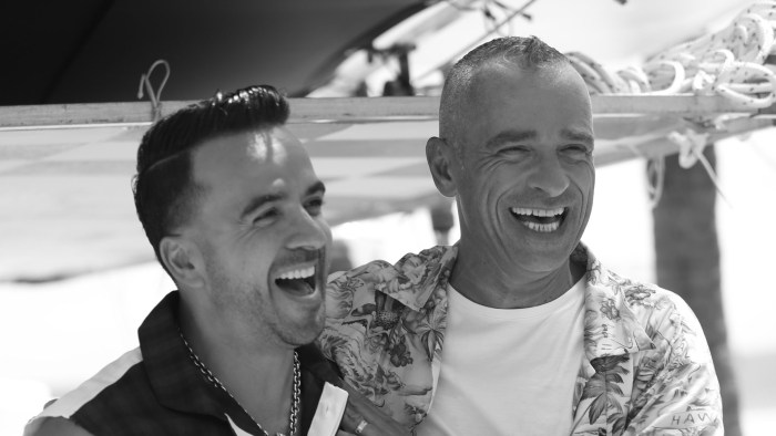 Eros Ramazzotti e Luis Fonsi - Foto di Marcello Cassano