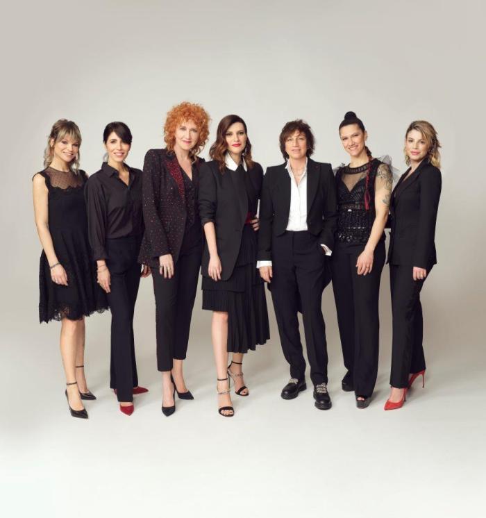 Una nessuna e centomila 19 settembre RCF Arena Reggio Emilia con Emma, Elisa, Giorgia, Amoroso, Pausini, Mannoia e Nannini