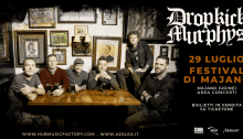 Dropkick Murphys in concerto il 27 luglio a Majano