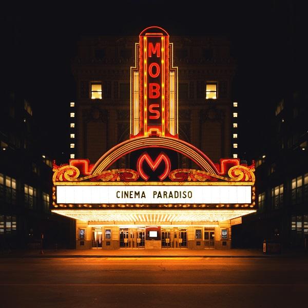 """Cinema Paradiso"" album copertina MOBS"