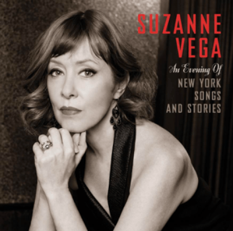 """""""An evening of new york songs and stories"""" copertina album Suzanne Vega"""