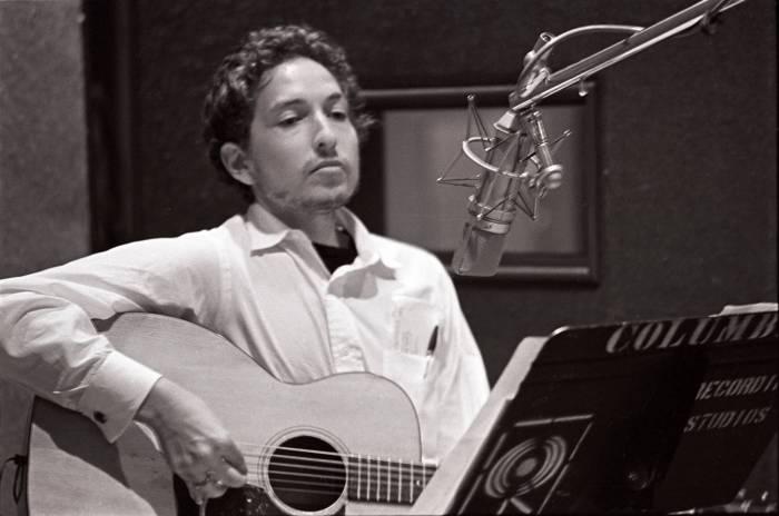 Bob Dylan - Foto di Al Clayton