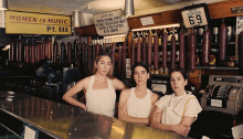 "Haim copertina album ""Women in music pt III"""