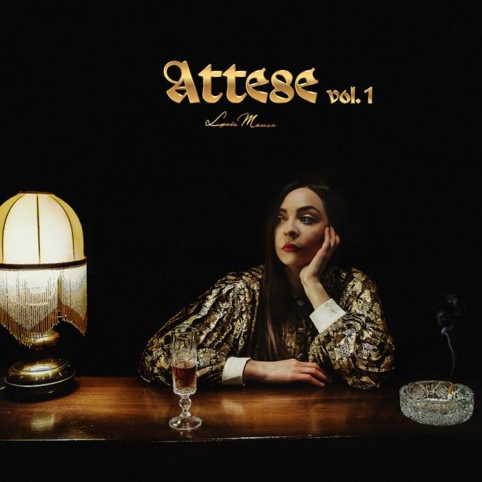 "Lucia Manca copertina EP ""Attese Vol. 1"""