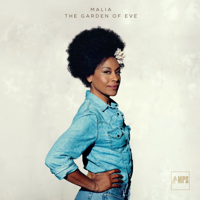 "Malia copertina album ""The Garden Of Eve"""