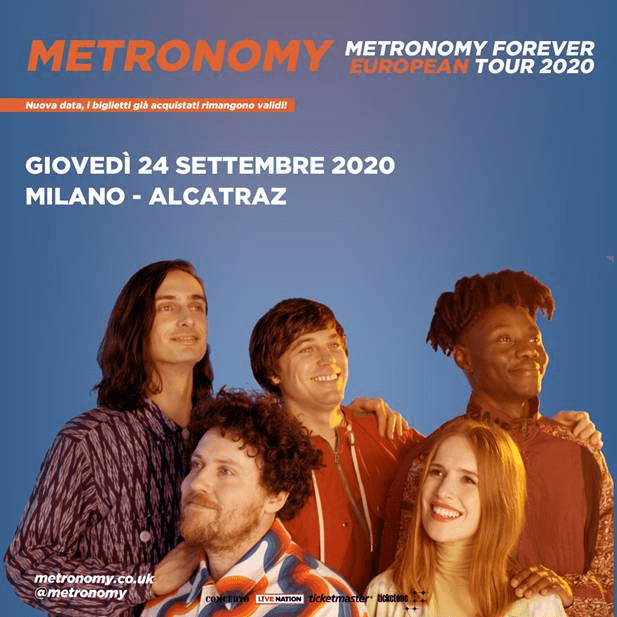 Metronomy 24 settembre Milano