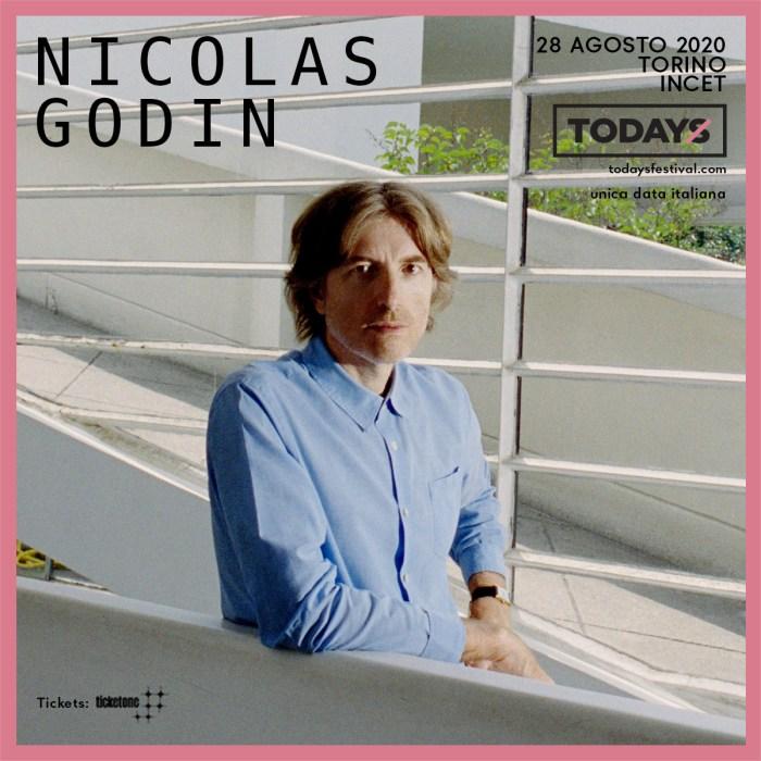 TOdays 2020 Nicoals Godin venerdì 28 agosto a Incet, Torino