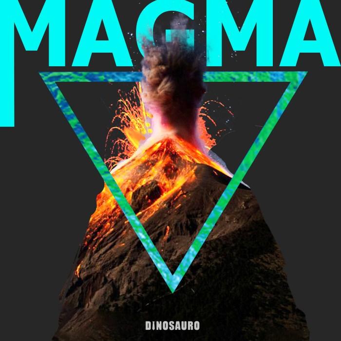 """""""Magma"""" copertina Dinosauro"""