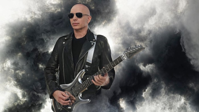 Joe Satriani Roma 23 maggio 2021