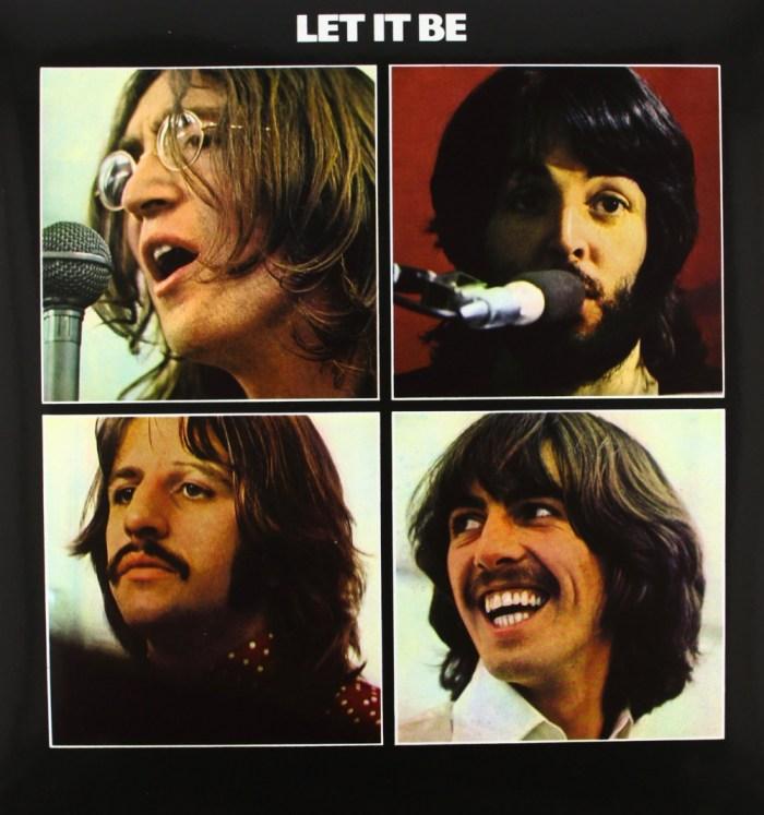 "The Beatles copertina album ""Let It Be"""