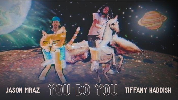 """Jason Mraz """"You Do You"""" copertina singolo"""