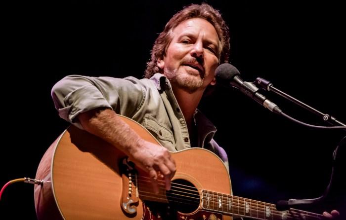 Eddie Vedder - Foto di Luigi Rizzo