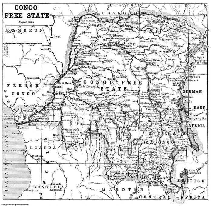 congo free state map
