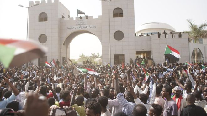 what caused sudan protests