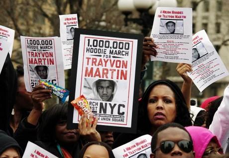 Trayvon Martin Protest March - Photo by David Shankbone