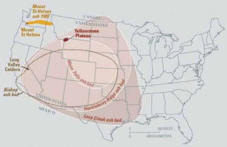 Yellowstone Erupción del Volcán