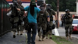 Ferguson Militarized Police - YouTube Screenshot