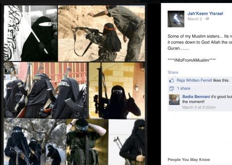 Jah'Keem Yisrael - Photos posted on Facebook