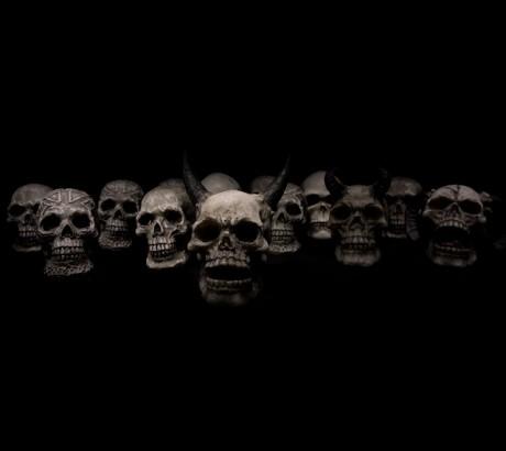 Horror cráneos - Dominio Público