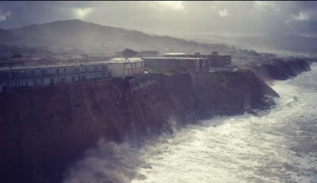 Pacifica Erosion - Photo from YouTube