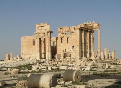 The Temple Of Baal by Bernard Gagnon