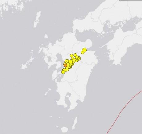 Kyushu Earthquakes