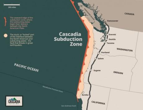 Cascadia Subduction Zone - FEMA